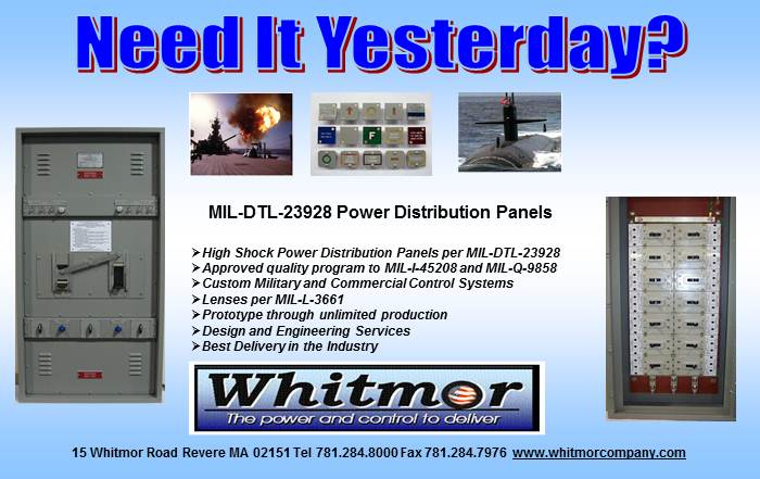 Whitmor - electrical controls power distribution and custom